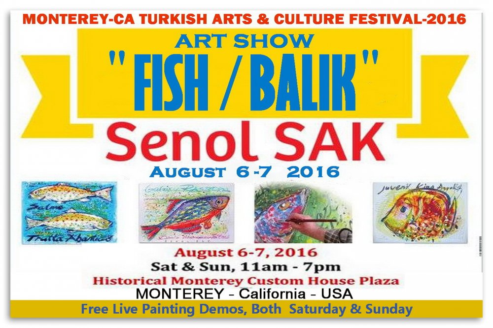 Senol SAK-19.TURKISH ART and CULTURE FESTIVAL-2016 Monterey-CA, usa