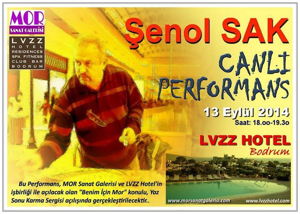 Şenol SAK CANLI PERFORMANS - 2014 _ LVZZ Hotel-BODRUM...