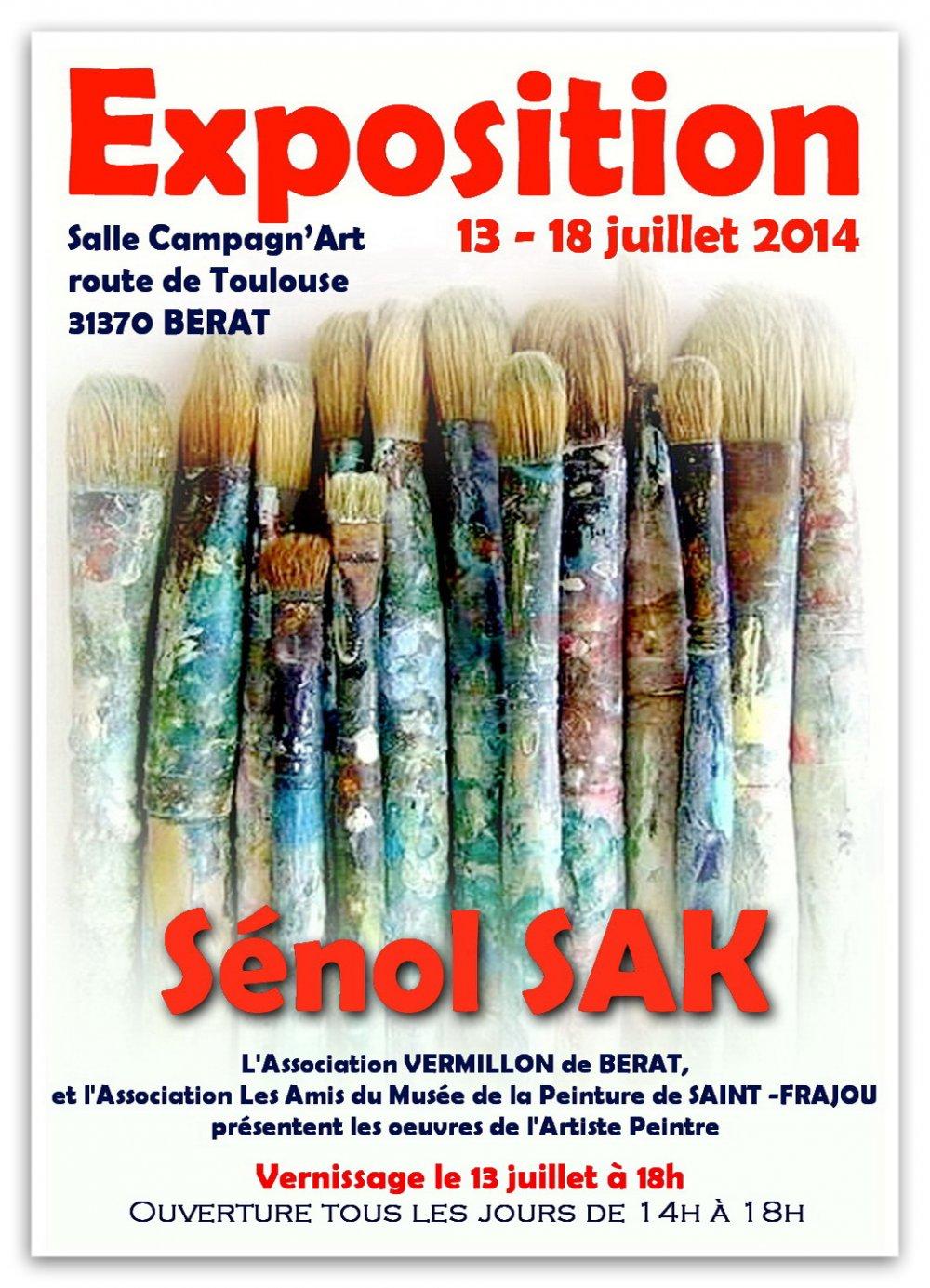 SOLO SHOW, 2014, Berat, Toulouse-FRANCE